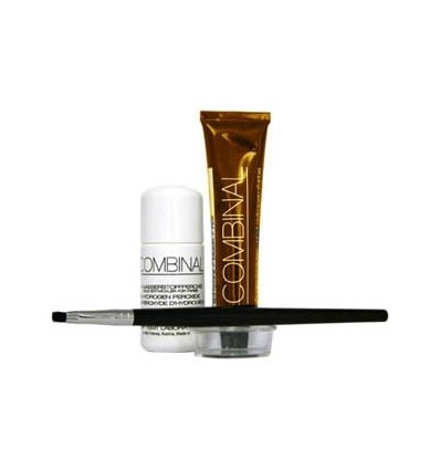Kit Teinture De Cils Ch 226 Tain Clair Combinal Lashes Nails