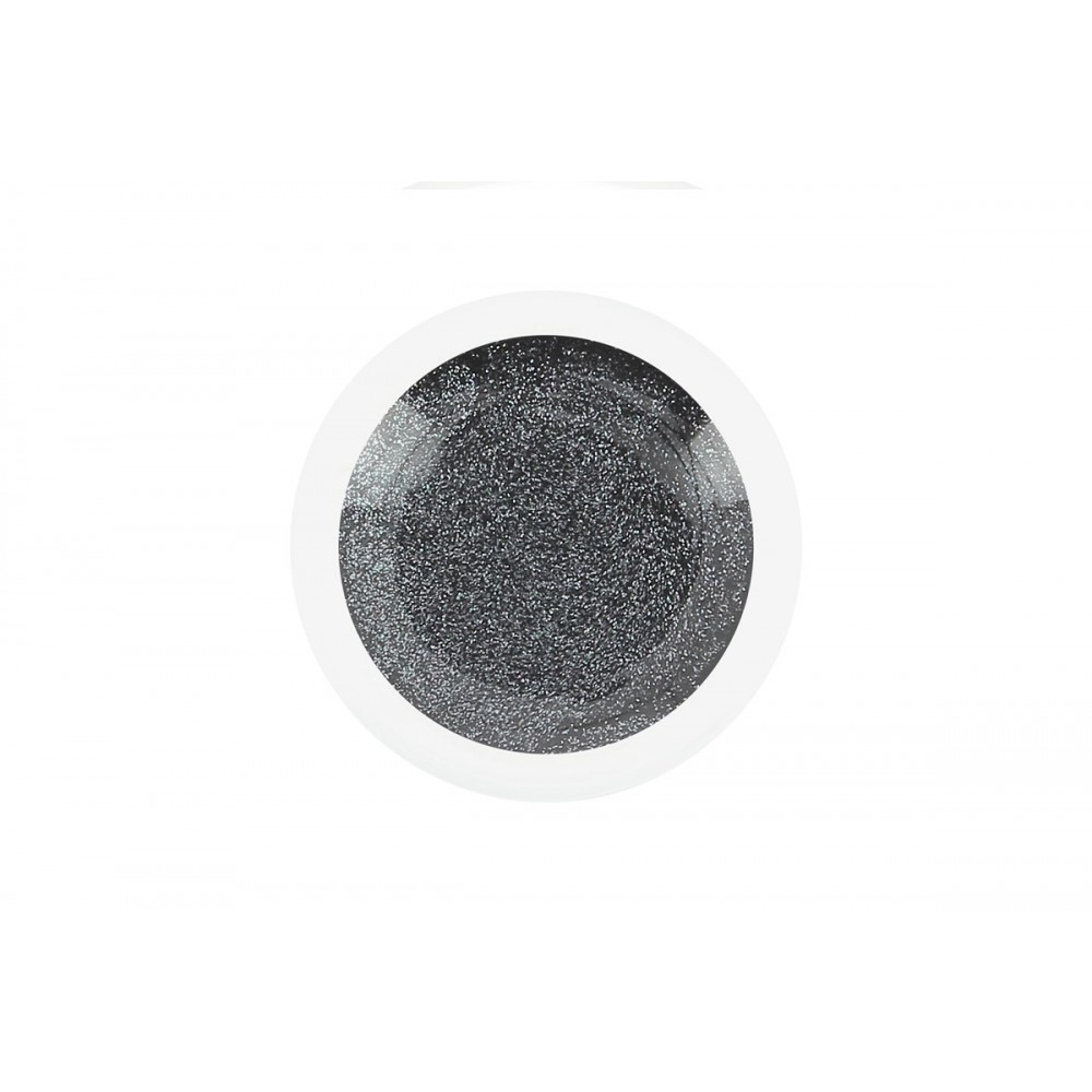 Gel UV couleur Silver Black