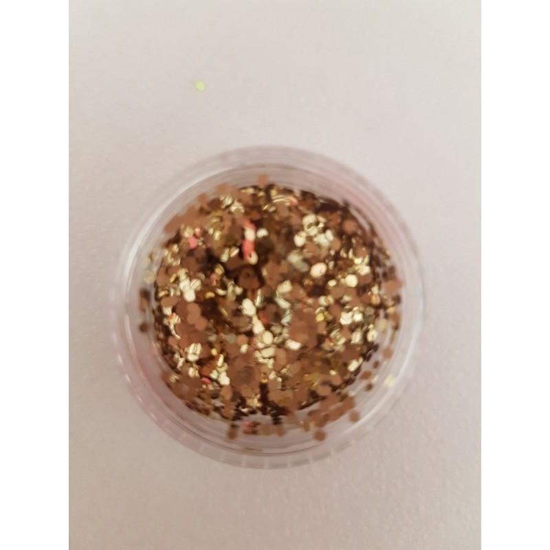 Glitter hexagonale pour Nail Art