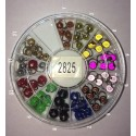Piercing ongles boules 2825