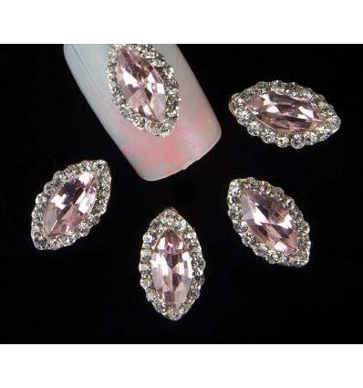 Bijoux pour ongles Diamant rose