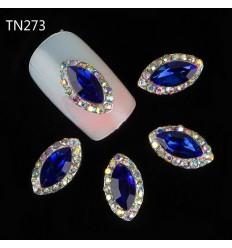 Bijoux pour ongles Diamant bleu