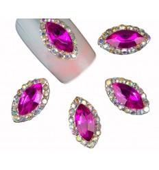 Bijoux pour ongles Diamant fuschia