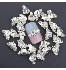 Bijoux pour ongles Diamant blanc