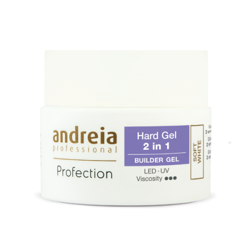 ANDREIA-PROFECTION BUILDER GEL 3 EN 1 44GR SOFT WHITE