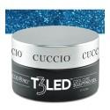 GEL PAILLETES T3 LED/UV SMURF GLITTER - 28 G