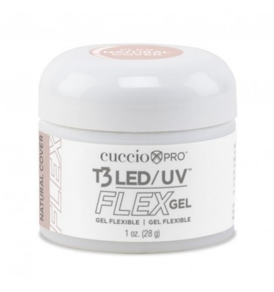 GEL FLEX NATURAL COVER CUCCIO - 28 GRS